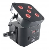 Chauvet Lighting FreedomPar Quad-5 RGBA Wireless Quad Color LED Wash - Black